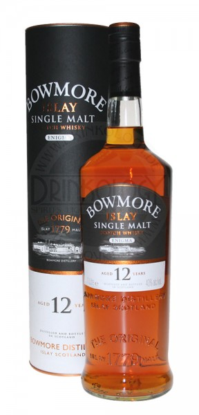 Bowmore Single Malt Whisky Enigma 12 Years Old, 1 L, 40%