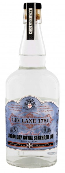 Gin Lane 1751 London Dry Royal Strength Gin 0,7L 47%