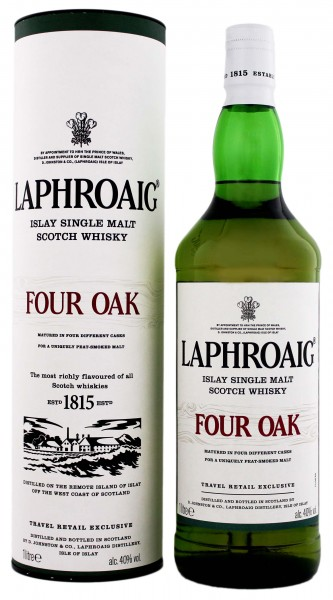 Laphroaig Four Oak Malt Whisky
