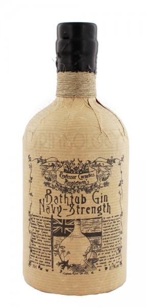 Professor Cornelius Ampleforth's Bathtub Gin Navy Strength