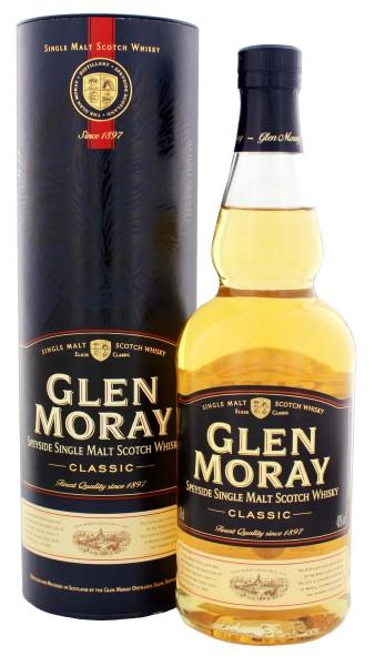 Glen Moray Classic Single Malt Whisky 0,7L 40%