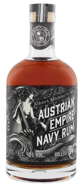 The Austrian Empire Navy Rum Solera 21 Jahre