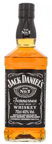 Jack Daniels Black Tennessee Whiskey Old Nr. 7 - 0,7L, 40%