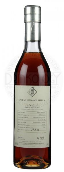 Fernando de Castilla Brandy Solera Reserva Oloroso Wood 0,5L 36,9%