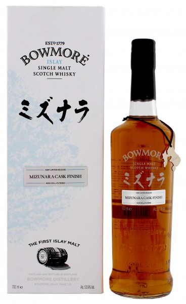 Bowmore Single Malt Whisky Mizunara Cask Finish