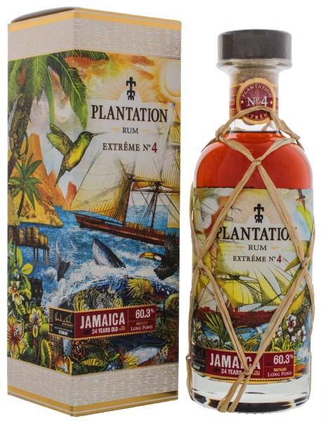 Plantation Rum Extreme No. 4 Jamaica Long Pond 24 Jahre 0,7L 60,3%