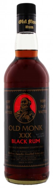 Old Monk XXX Black Rum 0,7L 37,5%