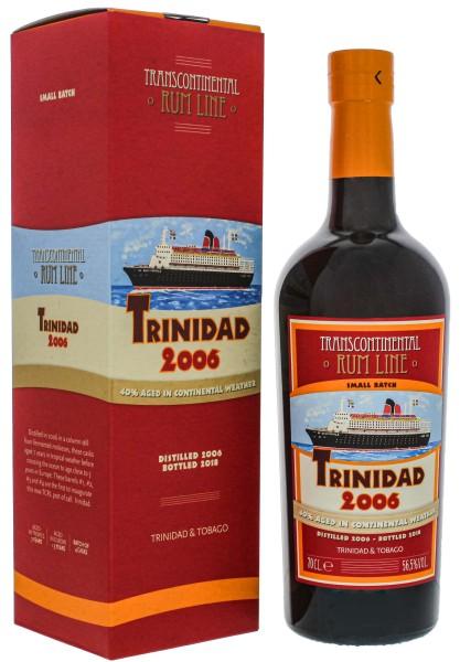 Transcontinental Rum Line Trinidad Rum 2006/2018 0,7L 56,5%