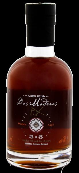 Dos Maderas Rum PX 5 + 5, 0,2 Liter, 40%