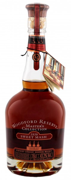 Woodford Reserve Bourbon Whiskey Sweet Mash, 0,7 L, 43,2%