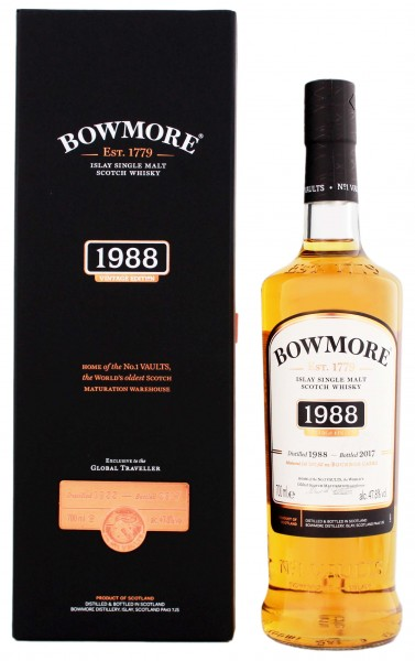 Bowmore Islay Single Malt Whisky Vintage Edition 1988/2017 0,7L 47,8%