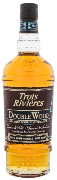Trois Rivieres Rhum Agricole Double Wood Ambre 0,7L 43%
