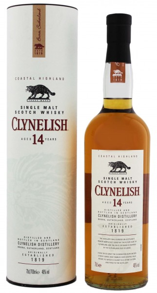 Clynelish Single Malt Whisky 14 Years Old, 0,7 L, 46%
