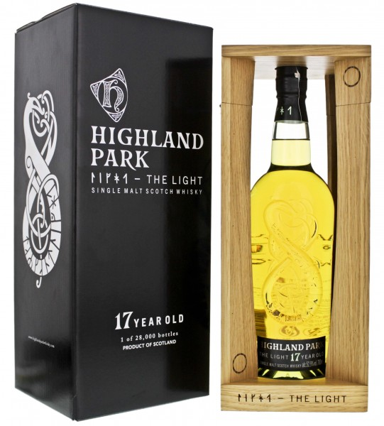 Highland Park Single Malt Whisky 17 Jahre The Light 0,7L 52,9%