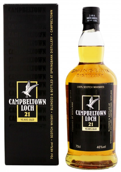 Campeltown Loch Blended Whisky 21 Jahre 0,7L 46%