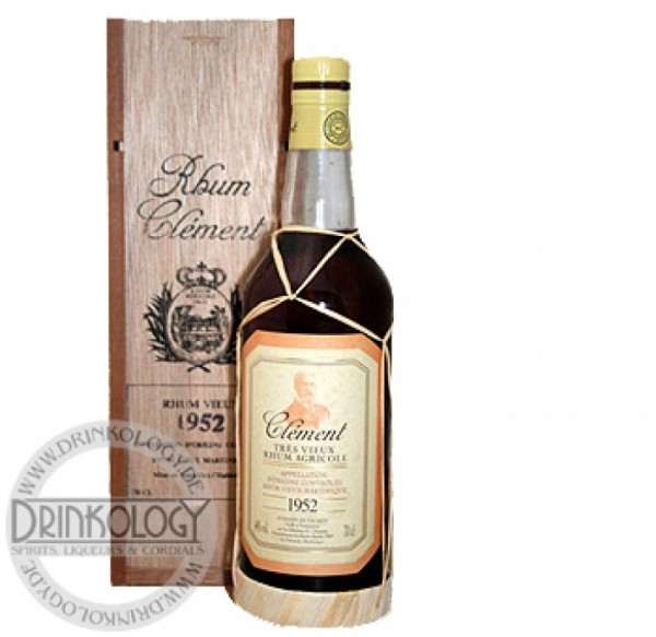 Clement Rhum Vieux Vintage 1952 0,7L 44%