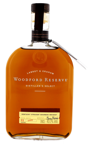 Woodford Reserve Bourbon Whiskey, 0,7 L, 43,2%