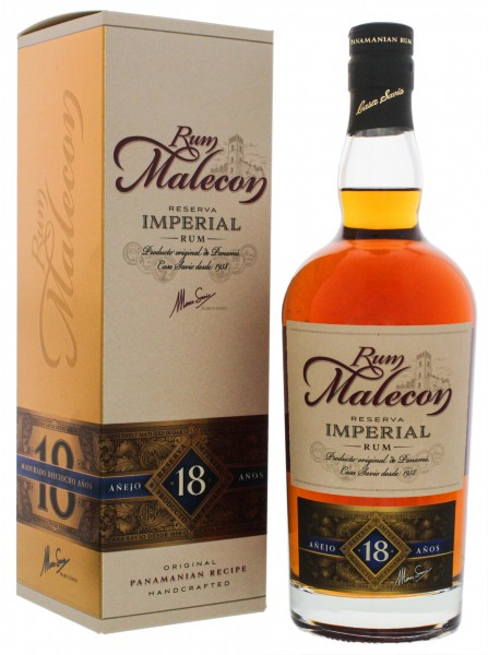 Malecon Rum Reserva Imperial 18 Years Old 0,7L 40%