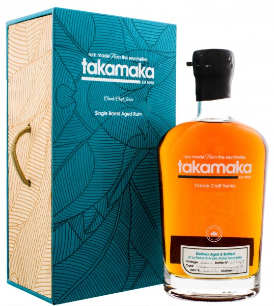 Takamaka Creole Craft Series Single Barrel Aged Rum Port Cask 2011 0,7L 53,6%