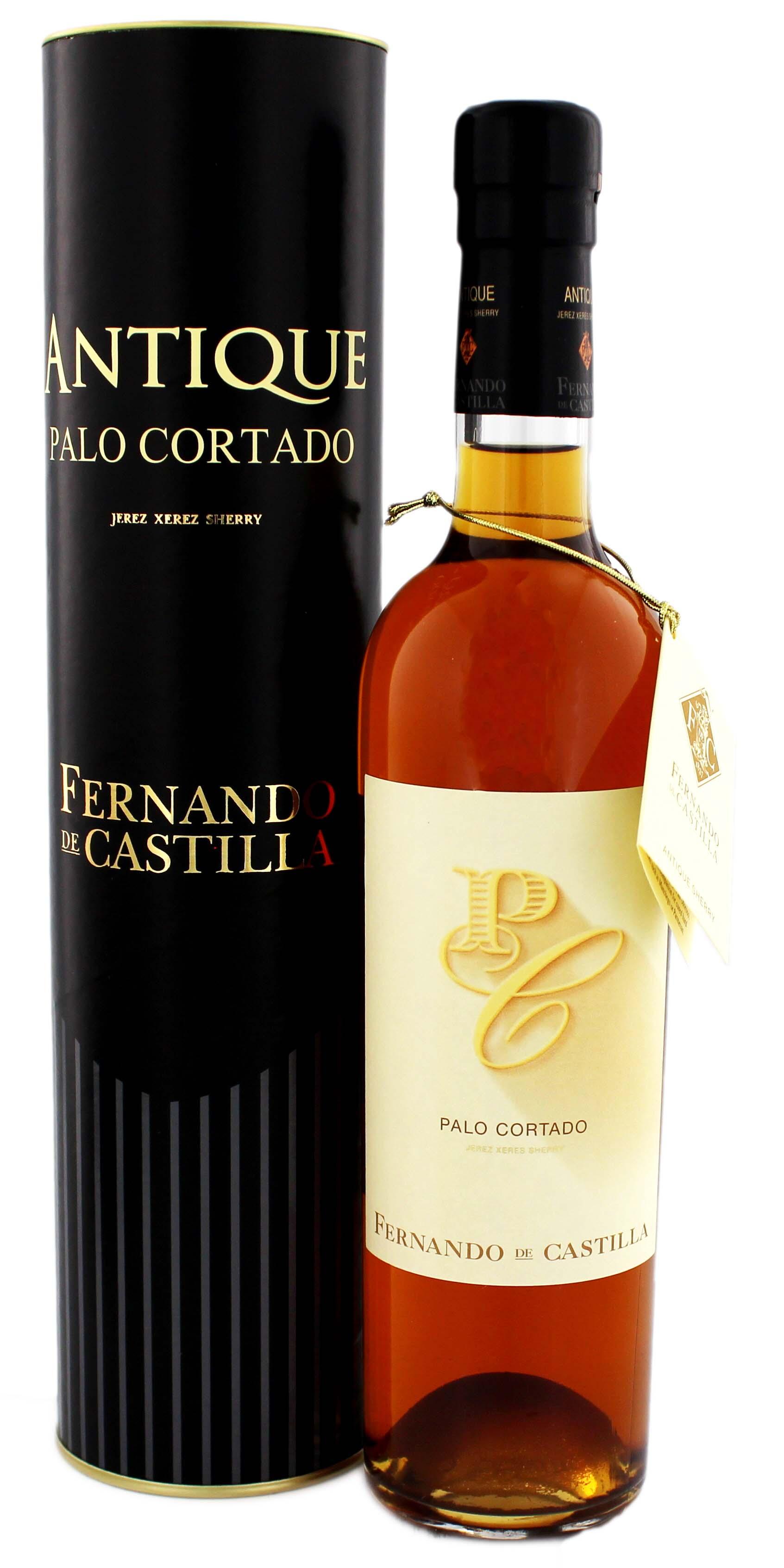 Fernando de Castilla Sherry Palo Cortado Antique, 0,5 L, 20%
