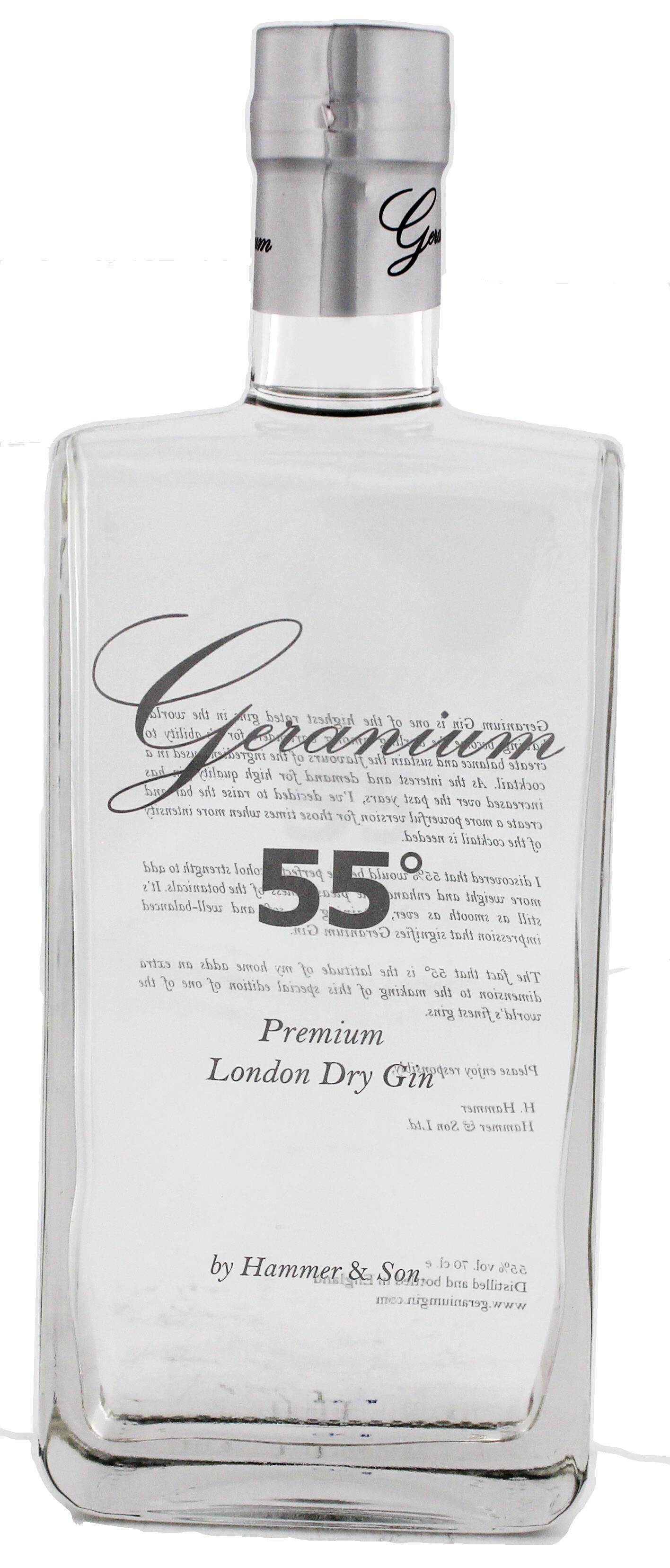 geranium 55 gin jetzt kaufen gin online shop. Black Bedroom Furniture Sets. Home Design Ideas