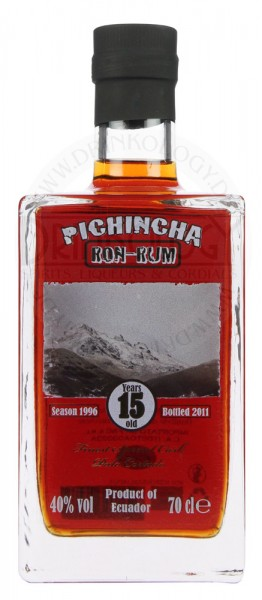 Pichincha Rum 15 Years Old Palo Cortado 0,7L 40%