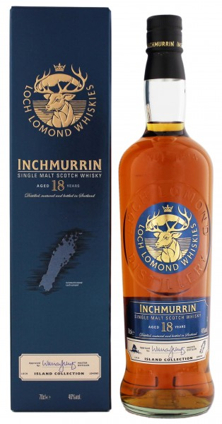 Inchmurrin Single Malt Whisky 18 Jahre