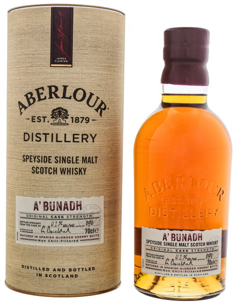 Aberlour A'Bunadh Single Malt Whisky Batch 69, 0,7L 61,2%