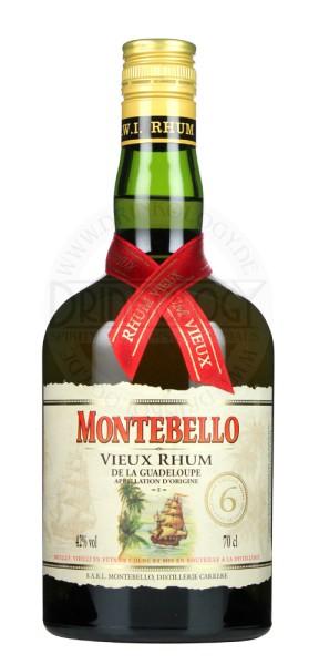 Montebello Rhum Vieux 6 Years Old 0,7L 42%