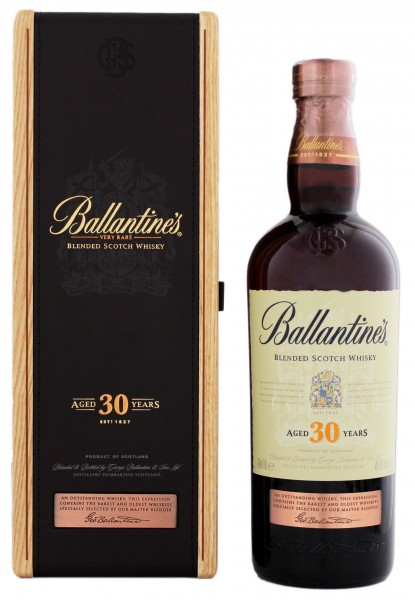 Ballantines Blended Scotch Whisky 30 Jahre
