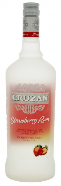 Cruzan Strawberry 1,0L 21%