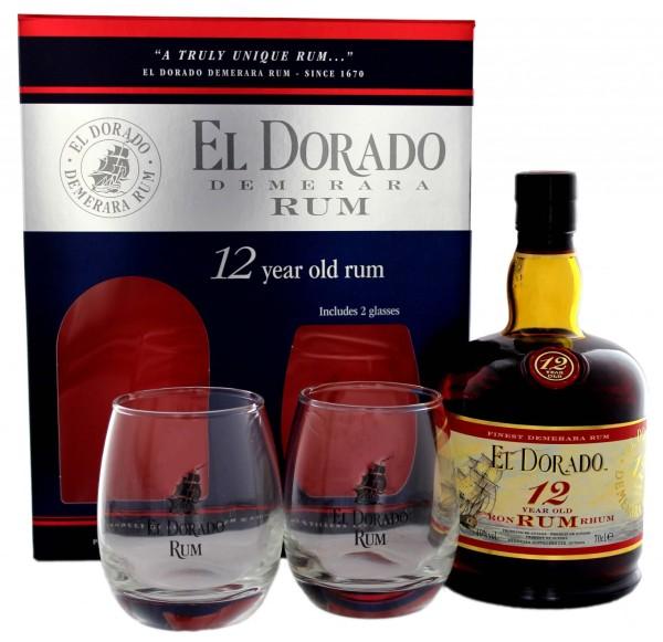 El Dorado Rum 12 Years Old 0,7L 40%