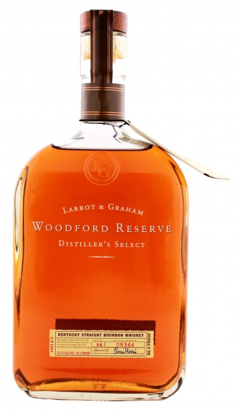 Woodford Reserve Bourbon Whisky 1,0L 43,2%