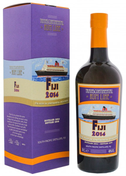 Transcontinental Rum Line Fiji Rum 2014/2018 0,7L 48%