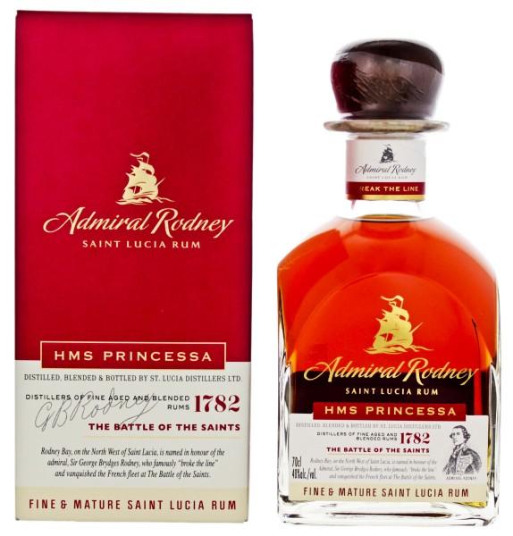 Admiral Rodney HMS Princessa Fine & Mature Rum 0,7L 40%