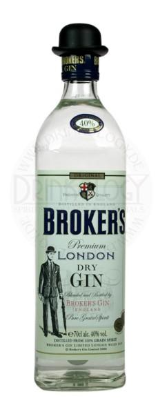 Brokers London Dry Gin 40%, 0,7L