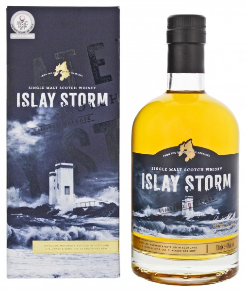 Islay Storm Single Malt Scotch Whisky Limited Release 0,7L 40%
