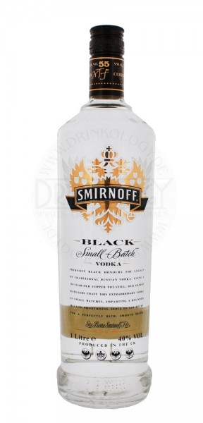 Smirnoff Black Pot Still Vodka 1,0L 40%