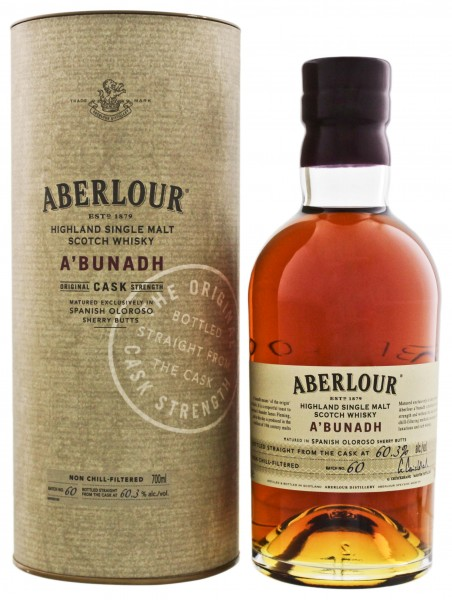 Aberlour A`Bunadh Single Malt Whisky Batch 60 0,7L