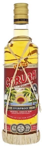 Coruba Overproof Rum 74%, 0,7L
