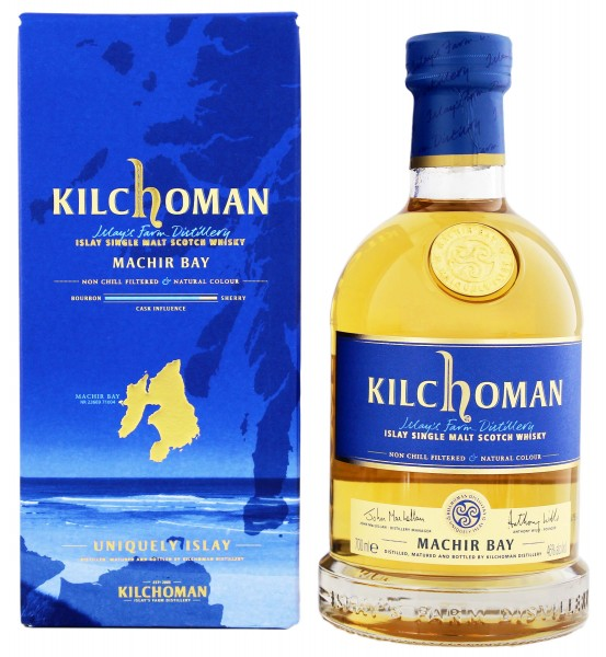 Kilchoman Single Malt Whisky Machir Bay, 0,7L 46%