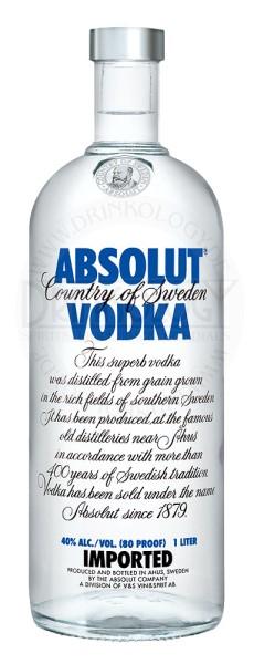 Absolut Vodka Blue 1,0L 40%
