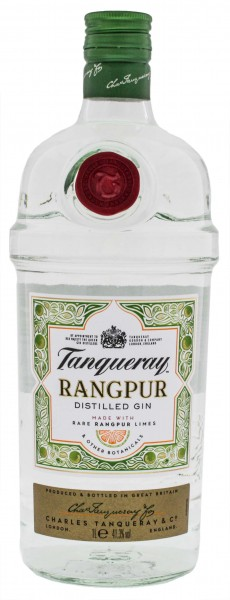 Tanqueray Dry Gin Rangpur 1,0L 41,3%