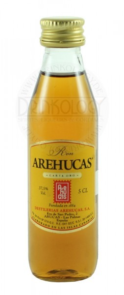 Arehucas Rum Dorado Oro 1 Years Old Miniature