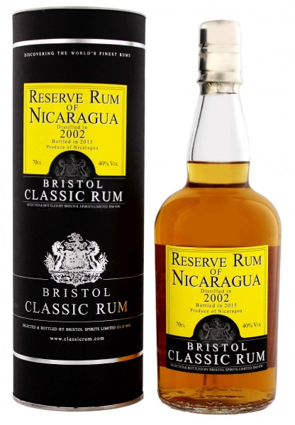 Bristol Reserve Rum of Nicaragua Vintage 2002-2015
