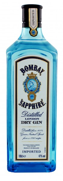 Bombay Sapphire London Dry Gin 1,0L 47%