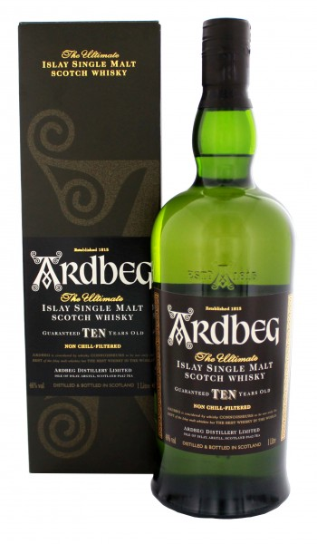 Ardberg Single Malt Whisky 10YO 1,0L, 46%