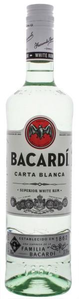 Bacardi Rum Carta Blanca 0,7L 37,5%