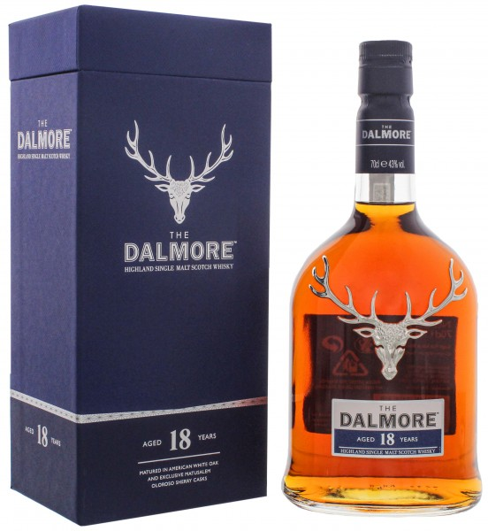 The Dalmore Single Malt Whisky 18 Jahre 0,7L 43%