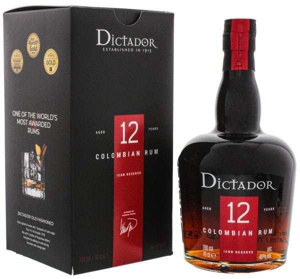 Dictador Solera Rum Ultra Premium Reserve 12 Years Old, 0,7 L, 40%